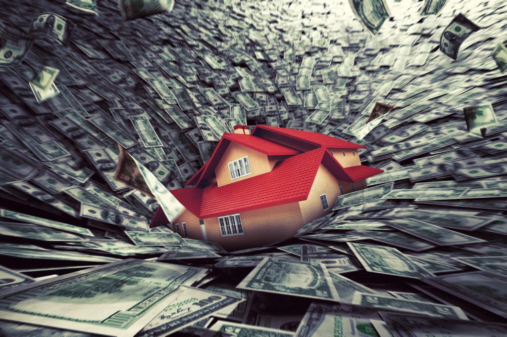 2006年-2008:サブプライム問題が顕在化し住宅金融会社の倒産&証券会社保有の金融商品の含み損拡大
