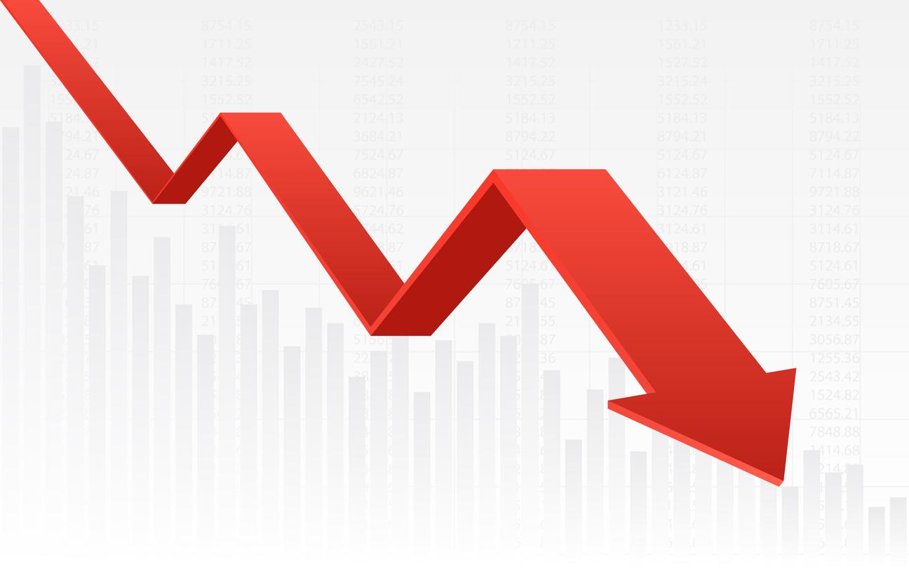 ナンピン買いをする際の株価の下落