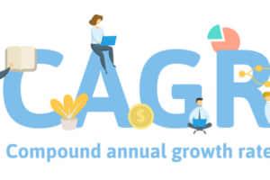 年平均成長率(CAGR)の意味は?使い方から計算方法をわかりやすく解説する。