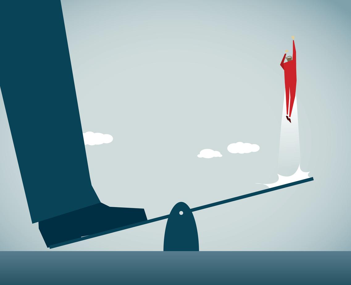 レバレッジ(ブル・ベア型)投資信託の仕組みとメリット・デメリットを紐解く!基準価格が一定でも大損する可能性あり?