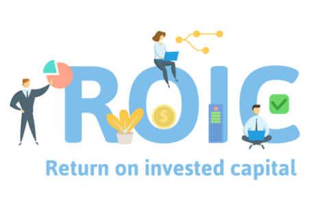 投下資本利益率(ROIC)とは?類似指標のROE・ROAと比較しながら説明。