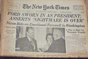 戦後経済の大転換!ニクソンショックとは?ニクソン大統領の生い立ちからドルショック発生の原因をわかりやすく解説。