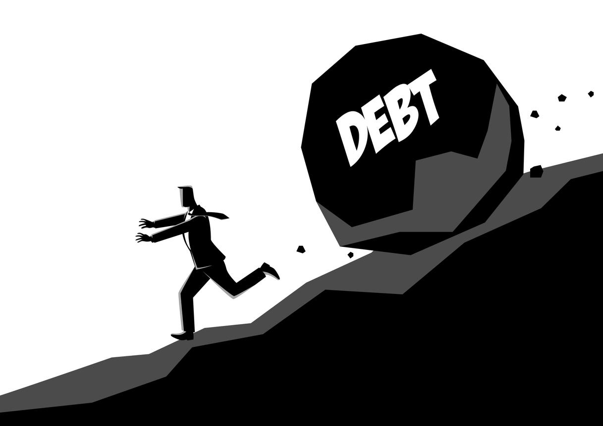 実質債務が大きくなる