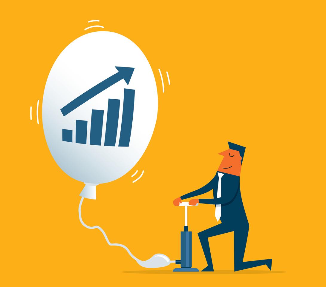 【インフレターゲットとは?】アベノミクス・量的金融緩和政策における指標の概要と仕組み、メリットとデメリットを解説。