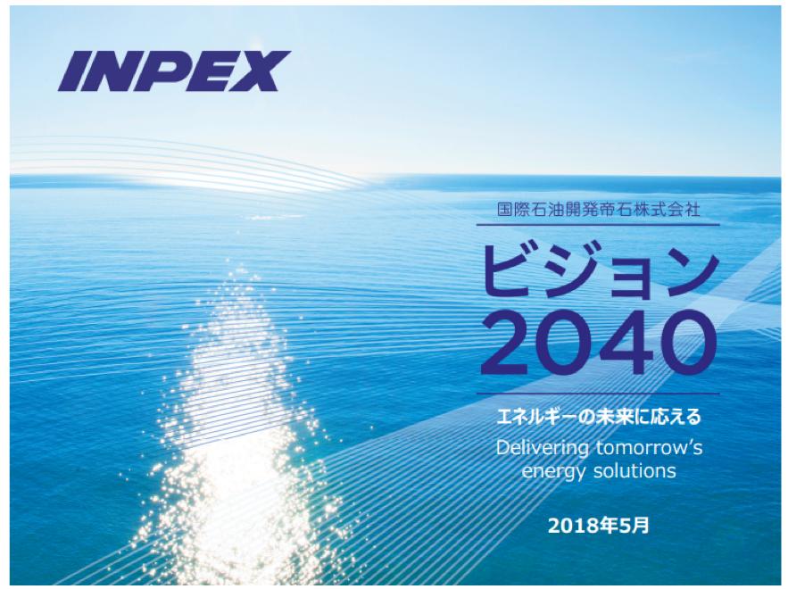 INPEXの中期経営計画