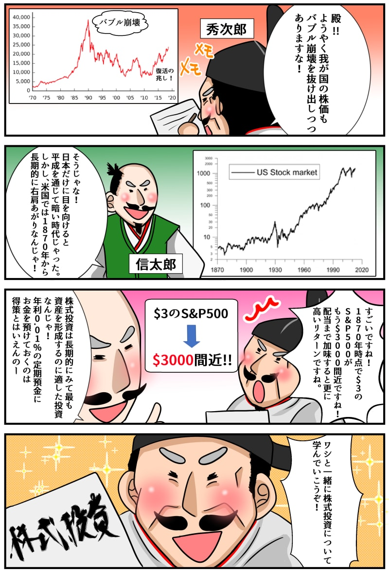 株式投資の重要性