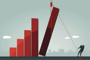 株式投資で空売りに適した銘柄を選定する方法を徹底解説!テクニカル分析初心者でも儲ける手法を紹介。