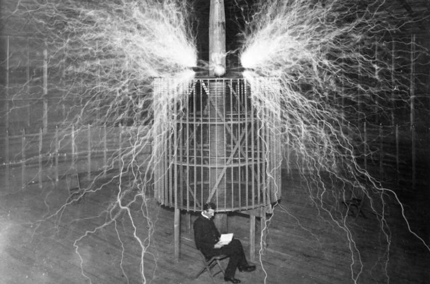 物理学者 二コラ・テスラ